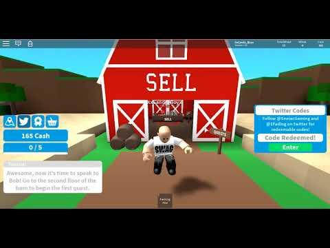 roblox farming simulator codes 2019