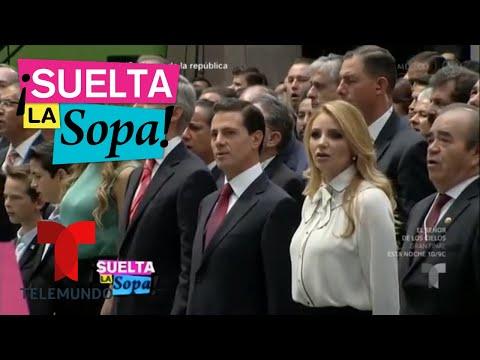 Enrique Peña Nieto se burla de su esposa   Suelta La Sopa   Entretenimiento