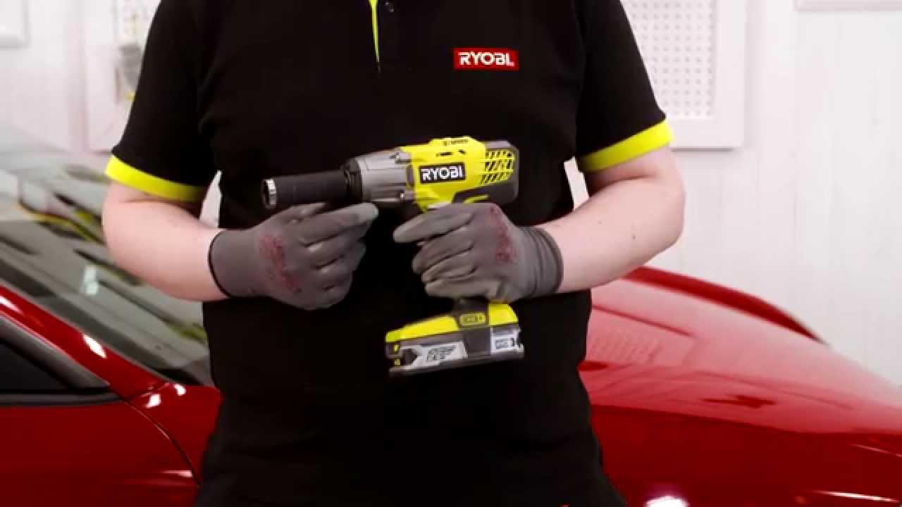 Ryobi R18IW3-0  18V ONE Cordless 3-Speed Impact Wrench  Body Only