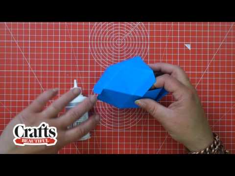 HOW TO MAKE EASY PAPER GEMS | DIY TUTORIAL