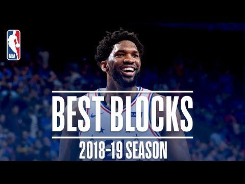 Joel Embiids Best Blocks | 2018-19 Season | #NBABlockWeek