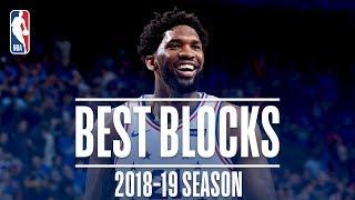 Joel Embiid's Best Blocks | 2018-19 Season | #NBABlockWeek
