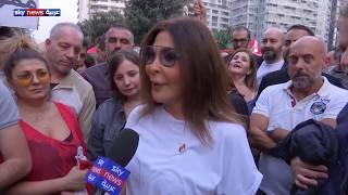 الفنانة اللبنانية إليسا تطالب سعد الحريري بالاستقالة
