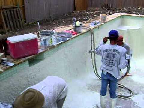 Swimming Pool Construction Plaster Bella Vista Pools San Antonio Tx 210 531 0578 Youtube