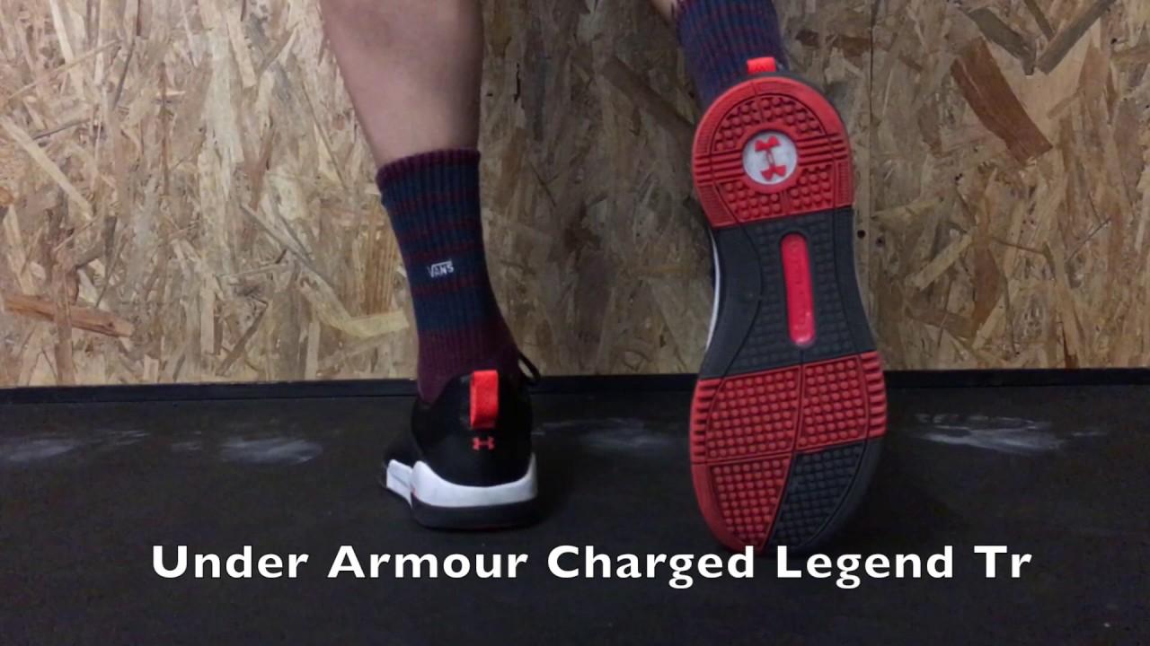 varoa suosittu tuotemerkki myyntipiste verkossa Under Armour Charged Legend Tr - YouTube