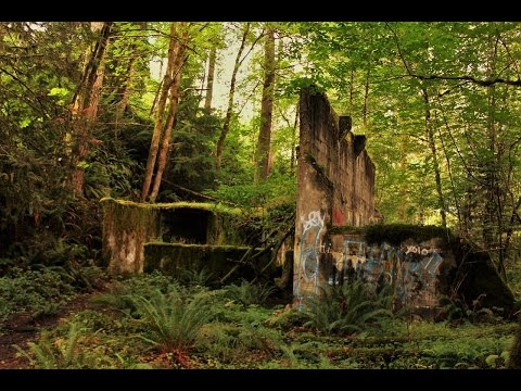 Abandoned Coal Mine and Factory (Cumberland, BC)