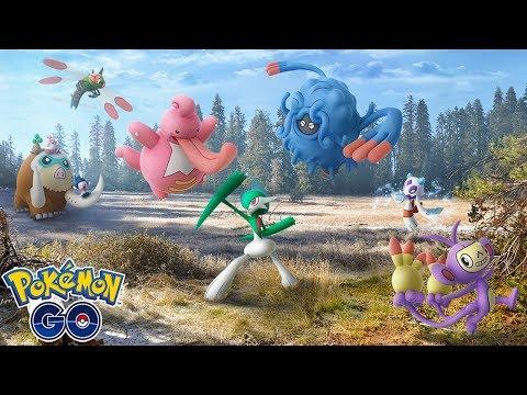 NUEVAS EVOLUCIONES ACTIVADAS DE 4 GENERACIÓN, NUEVOS MOVIMIENTOS Y MÁS! [Pokémon GO-davidpetit] thumbnail