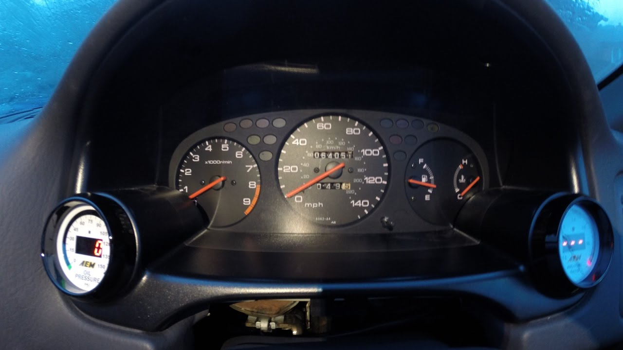 How To - Change A Honda Civic EK Speedo Cluster And Keep The Original  Chassis Mileage