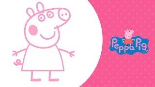 Drawing Peppa Pig & Friends (Rebecca, Emily, George) | Рисуем Свинку Пеппу и ее друзей