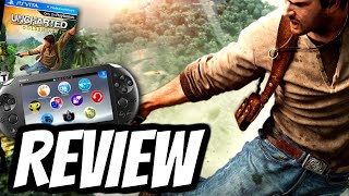 Uncharted: Golden Abyss REVIEW (PS VITA) HD Gameplay