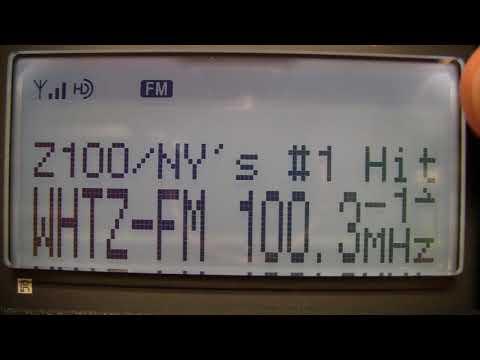 October 2017 FM HD Radio bandscan (central NJ)
