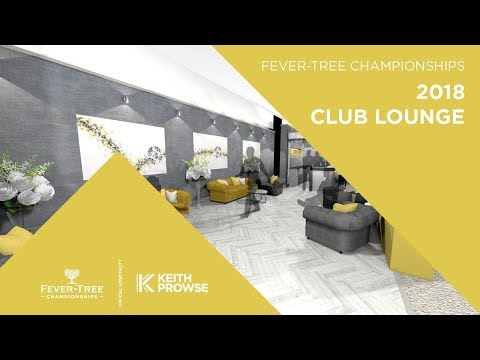 Club Lounge CGI Hospitality at the 2018 Fever-Tree Championships