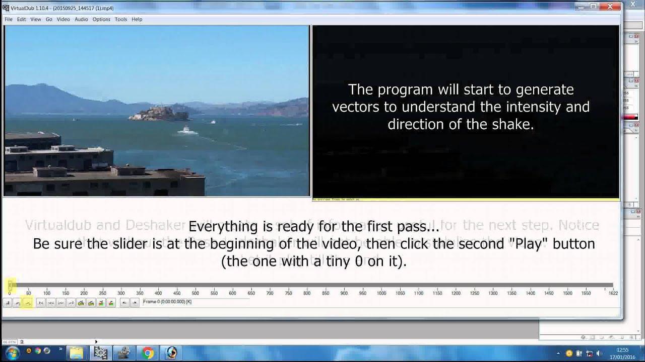 How to use VirtualDub