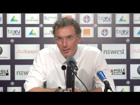 "Laurent Blanc: ""David Luiz wird immer wichtiger"" | FC Toulouse - Paris Saint-Germain 1:1"