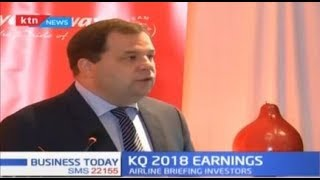Kenya Airways posts a Sh7.5 billion loss, CEO assures shareholders airline on track