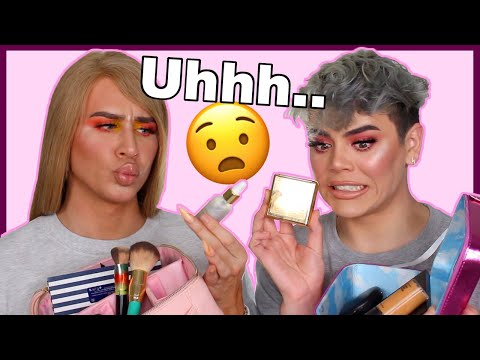 SWAPPING MAKEUP BAGS WITH A GERMAN MAKEUP ARTIST!   COHLSWORLD & MARVYNMACFNIFICENT thumbnail