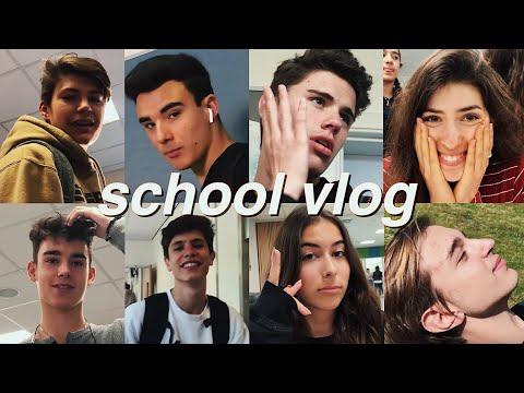 Meet My Attractive Friends | SCHOOL VLOG PART 1