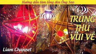 Mid-Autumn Festival: Making mid-autumn festival lights in Vietnam
