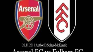 Arsenal FC vs Fulham FC 26.11.2011 SelMcKenzie Selzer-McKenzie