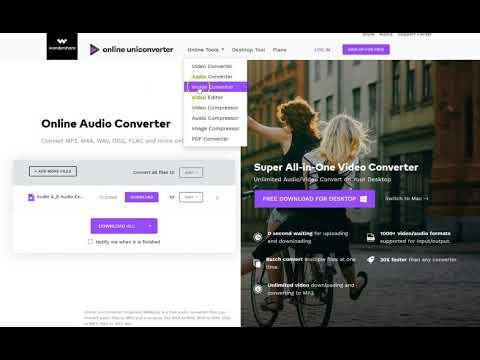 Convertidor de vídeo, audio e imagen | Convierte a mp4, avi, wmv, webm, youtube, mov y más