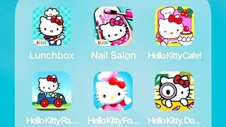 Download Video Hello Kitty Lunchbox,Nail Salon,Cafe,Racing Adventures,Food Town,Detective Games MP3 3GP MP4