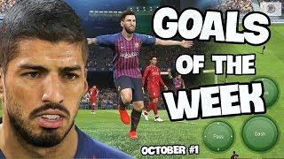 GOALS OF THE WEEK OCTOBER#1