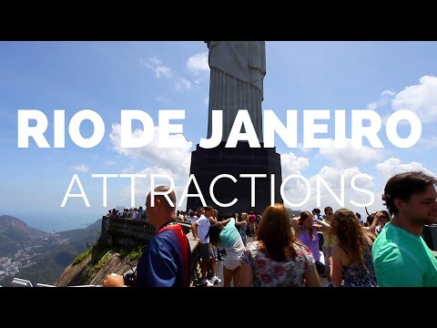 10 Top Tourist Attractions in Rio de Janeiro - Travel Video