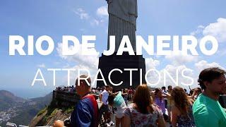 10 Top Tourist Attractions in Rio de Janeiro - Travel Video