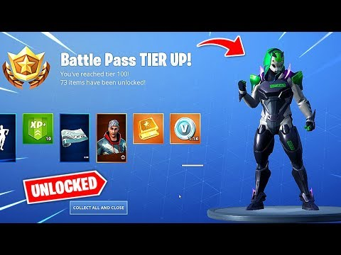 Buying All 100 Tiers In Fortnite Season 9 Battle Pass