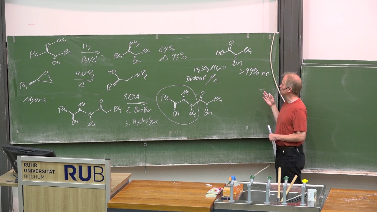 Lecture Competing Reactions 26 Prof  G  Dyker 240818