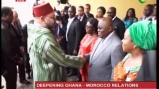 Ghana-Morocco sign 26 MoU to deepening relations - 17/2/2017