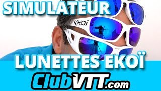 Lunettes EKOI - Essayez vos lunettes vtt en ligne avec EKOI - 220