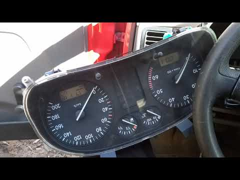 Проверка работоспособности схемы подключения приборки Polo 6n1 Facelift в Caddy Mk2