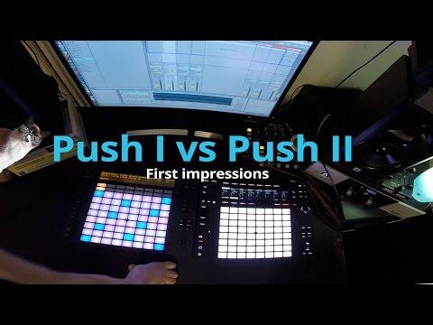 Ableton Push 1 vs Push 2