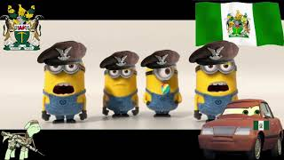 the singing minions sing song Rhodesians Never Die patriotic rhodesia music (no subtitle) 2019