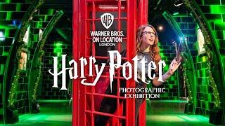 SNEAK PEEK: Harry Potter Photographic Exhibition | London ⚡️