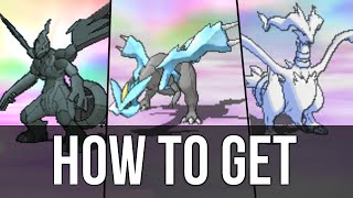 How to get Zekrom, Reshiram and Kyurem in Pokémon Omega Ruby and Alpha Sapphire