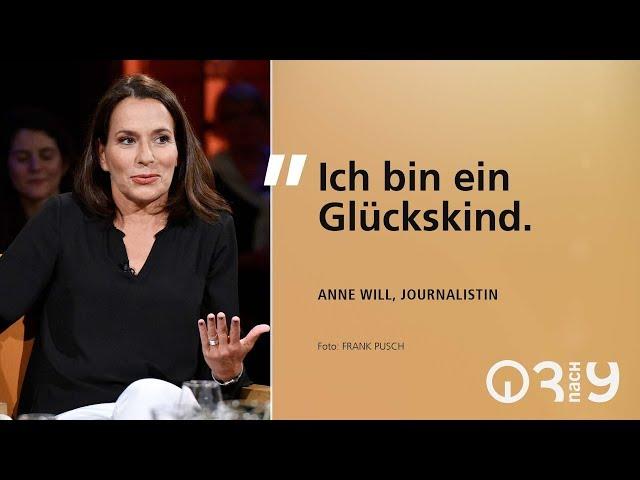 Anne Will über Glück und die Fussball-WM // 3nach9