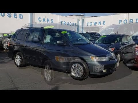 Honda Redwood City >> 2003 Honda Odyssey Passenger Van Ex L Redwood City San Mateo Mountain View Palo Alto San Carlos