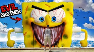 SPONGEBOB Has An EVIL BROTHER In GTA 5 (Scary)