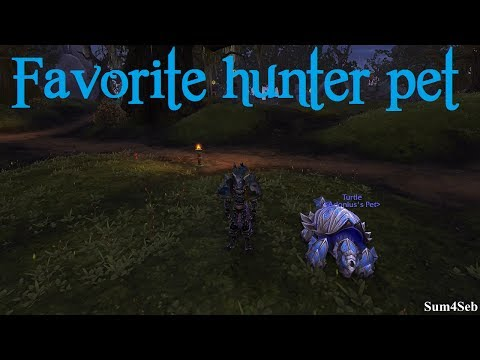 How to get cool looking hunter pet from isle of thunder ► Sum4Seb WoW Video