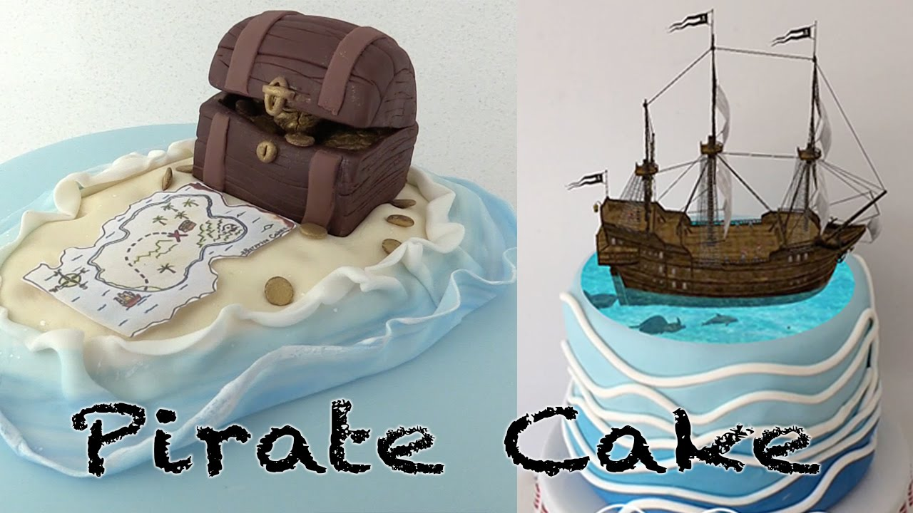 Magic Pirate Ship Cake Ann Reardon How To Cook That Youtube