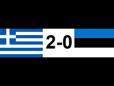 2018 FIFA World Cup qualification – UEFA Group H Greece 2-0 Estonia