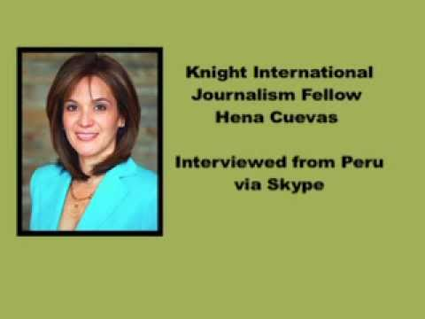 Knight Fellow Discusses Peru's Presidential Election