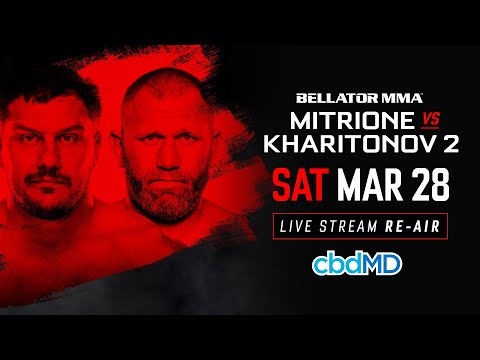 Bellator 225: Mitrione Vs. Kharitonov 2 - Live Stream Re-Air