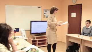 Изучение чешского языка в ICJ CZ в Праге. Открытый урок.