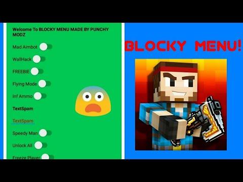 Blocky Mod Menu For Pixel Gun 3D! (Unofficial)