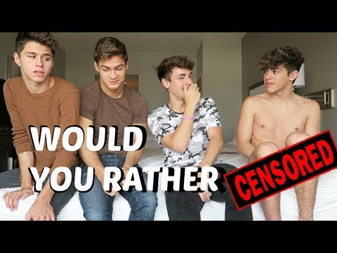 EXTREME WOULD YOU RATHER ft Jackson Krecioch Mikey Barone & Dylan Geick