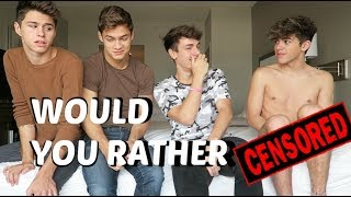 Download Video EXTREME WOULD YOU RATHER ft Jackson Krecioch Mikey Barone & Dylan Geick MP3 3GP MP4