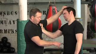 Head butt defence using the Five Thunder Dim Mak points with Sifu Steven Burton